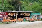 Travelnews.lv izbrauc Gruzijas autostrādes, kalnu asfalta ceļus un vēro dažādos žogu vārtus 79
