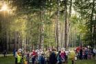 Mežaparka Lielajā estrādē 15 000 kvadrātmetros, kurus sedz zaļa zālīte, bija unikāla iespēja pirmo reizi atpūsties Latvijā lielākajā piknikā un vienla 28