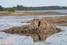 Līdz septembra vidum ar sausām kājām var aizkļūt uz Meinarda salu un senāko mūra ēku Latvijā 7