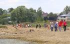 Līdz septembra vidum ar sausām kājām var aizkļūt uz Meinarda salu un senāko mūra ēku Latvijā 9