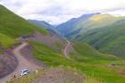 Travelnews.lv ar 4x4 mikroautobusu dodas Kaukāza kalnu maršrutā Datvijvari - Kistani - Khevsureti. Atbalsta: Georgia.Travel 1