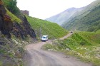 Travelnews.lv ar 4x4 mikroautobusu dodas Kaukāza kalnu maršrutā Datvijvari - Kistani - Khevsureti. Atbalsta: Georgia.Travel 5
