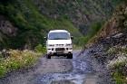 Travelnews.lv ar 4x4 mikroautobusu dodas Kaukāza kalnu maršrutā Datvijvari - Kistani - Khevsureti. Atbalsta: Georgia.Travel 28