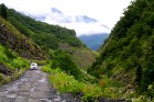 Travelnews.lv ar 4x4 mikroautobusu dodas Kaukāza kalnu maršrutā Datvijvari - Kistani - Khevsureti. Atbalsta: Georgia.Travel 29