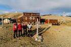 Latvijas Universitātes zinātnieki atgriezušies no ekspedīcijas Svalbāras arhipelāgā, kur tie pētīja ledājus un vides piesārņojumu vietā, kuru no Zieme 18