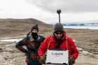 Latvijas Universitātes zinātnieki atgriezušies no ekspedīcijas Svalbāras arhipelāgā, kur tie pētīja ledājus un vides piesārņojumu vietā, kuru no Zieme 37