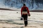 Latvijas Universitātes zinātnieki atgriezušies no ekspedīcijas Svalbāras arhipelāgā, kur tie pētīja ledājus un vides piesārņojumu vietā, kuru no Zieme 44