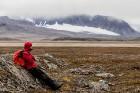 Latvijas Universitātes zinātnieki atgriezušies no ekspedīcijas Svalbāras arhipelāgā, kur tie pētīja ledājus un vides piesārņojumu vietā, kuru no Zieme 57