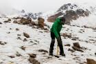 Latvijas Universitātes zinātnieki atgriezušies no ekspedīcijas Svalbāras arhipelāgā, kur tie pētīja ledājus un vides piesārņojumu vietā, kuru no Zieme 60