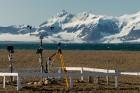 Latvijas Universitātes zinātnieki atgriezušies no ekspedīcijas Svalbāras arhipelāgā, kur tie pētīja ledājus un vides piesārņojumu vietā, kuru no Zieme 68