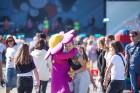 Visas sestdienas garumā Kauguros skanēja muzikāli priekšnesumi un norisinājās daudzveidīgas radošas un sportiskas aktivitātes