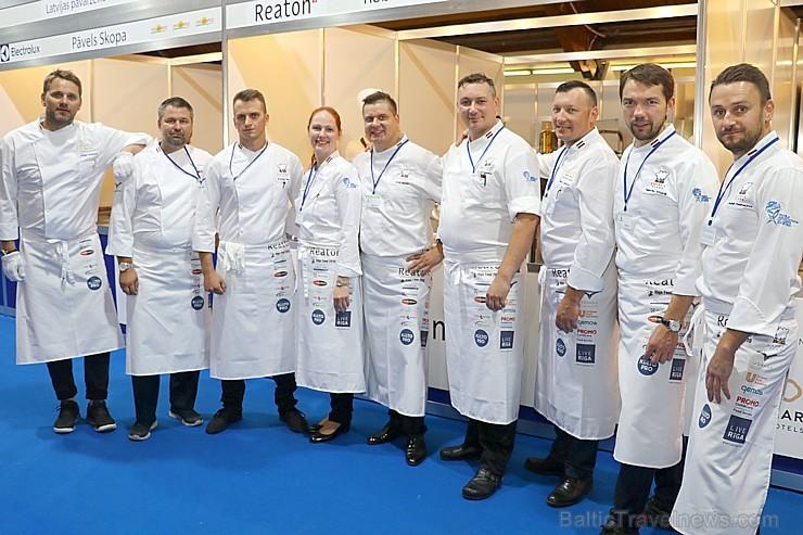 Ķīpsalā jaunie pavāri cīnās par tituliem «Latvija