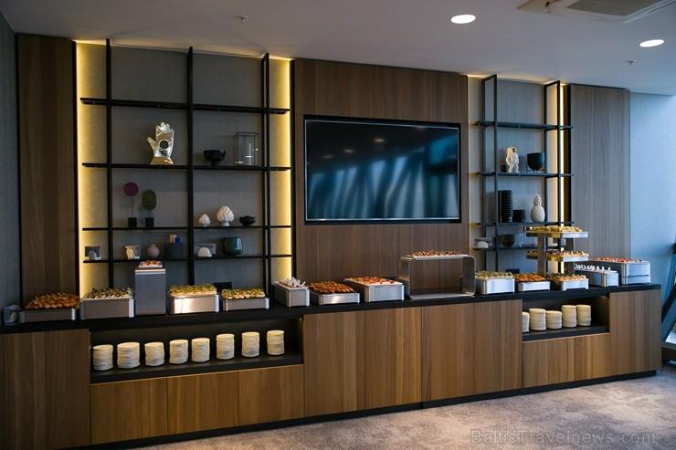 Rīgā, Dzirnavu ielā, oficiāli atvērta Latvijā pirmā un Baltijā lielākā «Marriott» tīkla viesnīcu «AC Hotel Riga» 264519