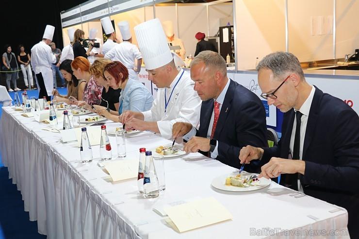 Pavāri Dinārs Zvidriņš un Juris Latišenoks cīnās par vietu prestižajā konkursā «Bocuse d Or» 264614