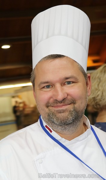 Pavāri Dinārs Zvidriņš un Juris Latišenoks cīnās par vietu prestižajā konkursā «Bocuse d Or» 264617