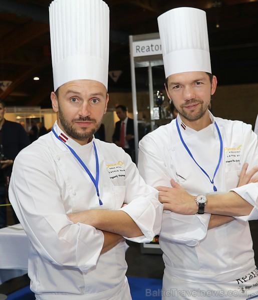 Pavāri Dinārs Zvidriņš un Juris Latišenoks cīnās par vietu prestižajā konkursā «Bocuse d Or» 264629