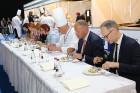Pavāri Dinārs Zvidriņš un Juris Latišenoks cīnās par vietu prestižajā konkursā «Bocuse d Or» 31