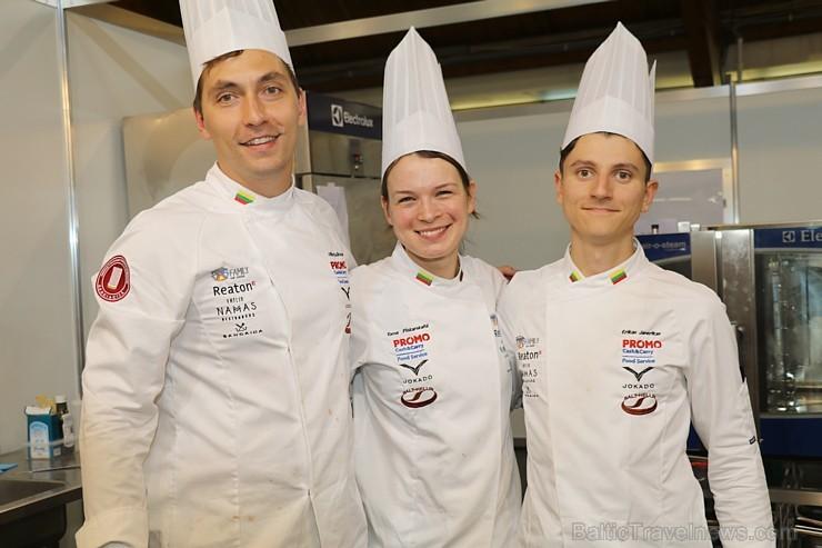 Pavāru komandas no Lietuvas, Igaunijas un Latvijas sacenšas par «Baltijas kulinārais mantojums» titulu 264635