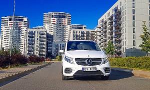 Travelnews.lv apceļo Latviju ar jauno biznesa klases mikroautobusu «Mercedes-Benz V-Klase» 2