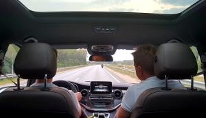 Travelnews.lv apceļo Latviju ar jauno biznesa klases mikroautobusu «Mercedes-Benz V-Klase» 35
