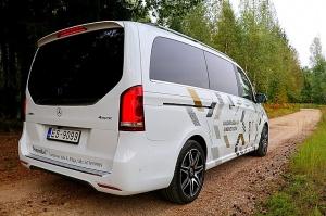 Travelnews.lv apceļo Latviju ar jauno biznesa klases mikroautobusu «Mercedes-Benz V-Klase» 39