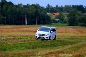 Travelnews.lv apceļo Latviju ar jauno biznesa klases mikroautobusu «Mercedes-Benz V-Klase» 46