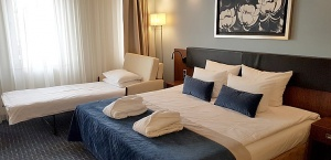 Travelnews.lv iepazīst «Avalon Hotel & Conferences» viesnīcas jaunumus un haizivs cepeti restorānā 18