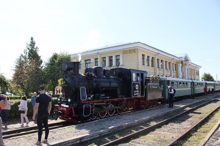 Gulbenē ar daudzveidīgu programmu svin Bānīša svētkus - vienīgā regulāri kursējošā šaursliežu dzelzceļa vilciena 116.dzimšanas dienu