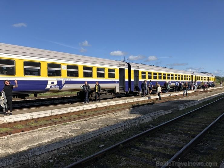 Gulbenē ar daudzveidīgu programmu svin Bānīša svētkus - vienīgā regulāri kursējošā šaursliežu dzelzceļa vilciena 116.dzimšanas dienu 265128