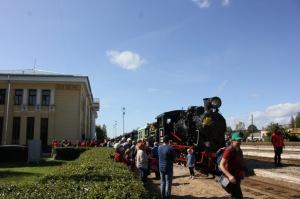 Gulbenē ar daudzveidīgu programmu svin Bānīša svētkus - vienīgā regulāri kursējošā šaursliežu dzelzceļa vilciena 116.dzimšanas dienu 12