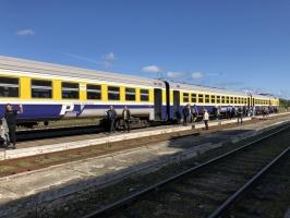 Gulbenē ar daudzveidīgu programmu svin Bānīša svētkus - vienīgā regulāri kursējošā šaursliežu dzelzceļa vilciena 116.dzimšanas dienu 15
