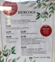 Travelnews.lv izbauda ģimenes restorāna «Hercogs Ādaži» ēdienkarti un atmosfēru 45