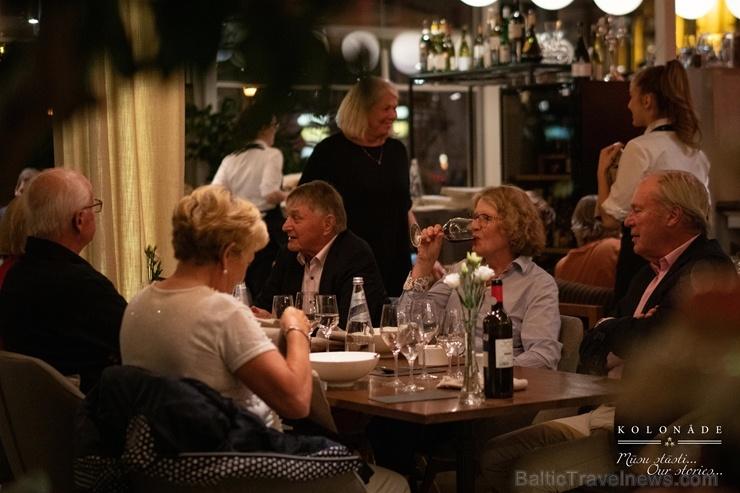 Vecrīgas restorāns Kolonāde. Mūsu stāsti krāšņi svin 5. gadadienu