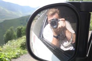 Travelnews.lv ar 4x4 mikroautobusu izbrauc Kaukāza kalnu serpentīnus. Atbalsta: Georgia.Travel 25