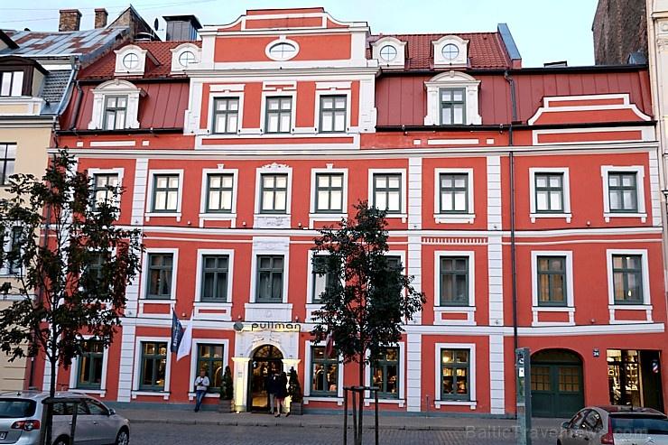 Vecrīgas 5 zvaigžņu viesnīca «Pullman Riga Old Tow