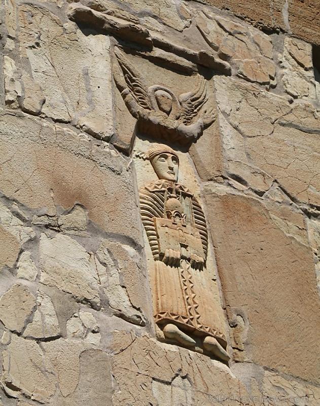 Travelnews.lv apmeklē 7.gadsimta Ateni Sioni baznīcu Gori pilsētas tuvumā. Atbalsta: Georgia.Travel