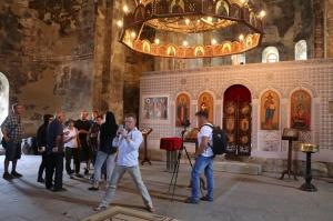 Travelnews.lv apmeklē 7.gadsimta Ateni Sioni baznīcu Gori pilsētas tuvumā. Atbalsta: Georgia.Travel 11
