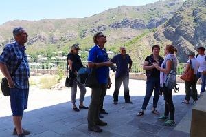 Travelnews.lv apmeklē 7.gadsimta Ateni Sioni baznīcu Gori pilsētas tuvumā. Atbalsta: Georgia.Travel 21