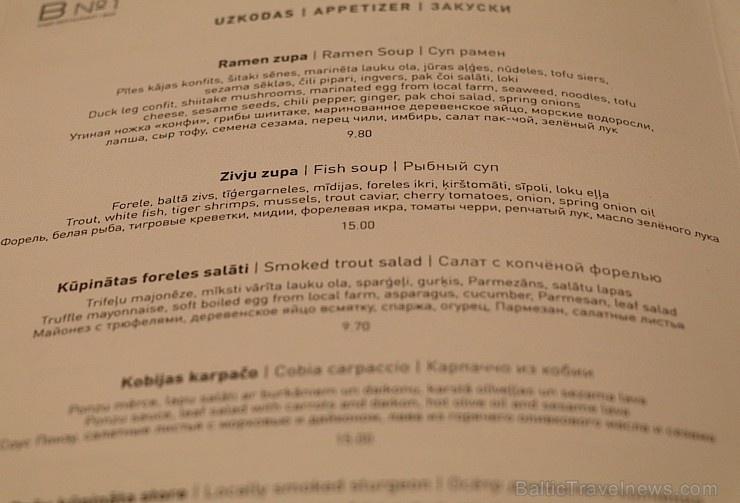 Travelnews.lv iepazīst un izbauda Rīgas restorāna «Bibliotēka No1» vakariņu ēdienkarti un viesmīlību