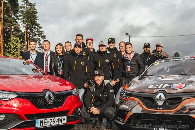 Travelnews.lv ar «Renault Mūsa Motors Rīga» atbalstu iepazīst Pasaules rallijkrosa čempionāta aizkulises Latvijā. Foto: Toms Svilāns