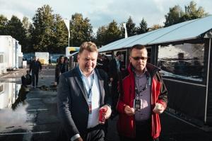 Travelnews.lv ar «Renault Mūsa Motors Rīga» atbalstu iepazīst Pasaules rallijkrosa čempionāta aizkulises Latvijā. Foto: Toms Svilāns 15