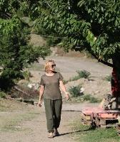 Travelnews.lv nakšņo bijušā kultūras ministra Nika Vacheishvili viesu namā, izbauda mājas vīnu un virtuvi. Atbalsta: Georgia.Travel 27