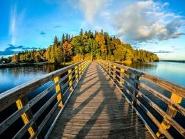 Lai arī šķiet, ka rudens tikai nupat sācies, nepamirkšķināsim ne acu, kad koki būs klāti zeltā! Izbaudi šo gleznaino laiku Alūksnes pusē! 9