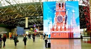 Travelnews.lv ar lidsabiedrību «Aeroflot Airlines» caur Maskavu dodas uz Ziemeļkaukāzu Krievijā. Šeremetjevas starptautiskā lidosta. 11