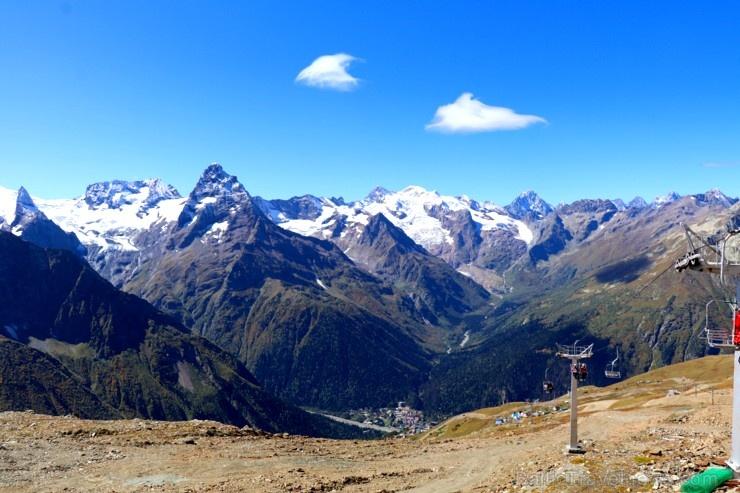 Travelnews.lv iepazīst Dombaja kalnus Kaukāzā. Atbalsta: Magtur