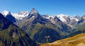 Travelnews.lv iepazīst Dombaja kalnus Kaukāzā. Atbalsta: Magtur 8