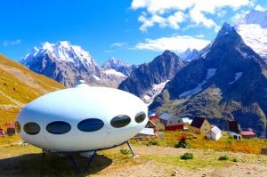 Travelnews.lv iepazīst Dombaja kalnus Kaukāzā. Atbalsta: Magtur 45