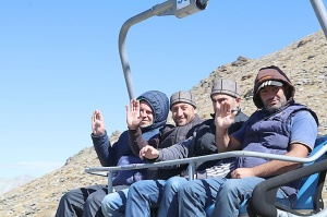 Travelnews.lv iepazīst Dombaja kalnus Kaukāzā. Atbalsta: Magtur 84