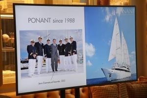 Tūrisma firma «Cruiselines» pie brokastu galda restorānā «Snob» iepazīstina ar  premium klases kruīzu kompāniju «Ponant» 4