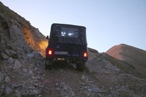 Travelnews.lv ar apvidus spēkratu «UAZ» dodas Kaukāza kalnu bezceļos. Atbalsta: Magtur 38